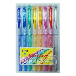 Ручки в наборе 919- 8 цветов с блеском