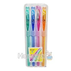 Ручки в наборе 919- 4 цветов с блеском