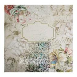 Альбом свадебный для пожеланий Мандарин (268*268 мм)