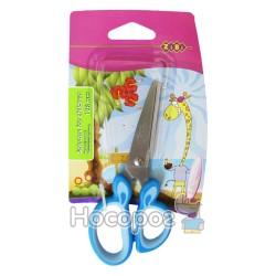 Ножиці дитячі з гумовими вставками ZB.5011-02 сині