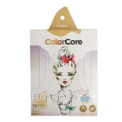 Карандаши цветные Marco 3130-36CB ColorCore