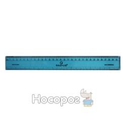 Лінійка пластикова Radius 30 см