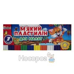 """Пластилин Мицар """"Для малышей"""" 7 цв."""