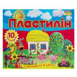 """Пластилин Мицар """"С Украиной в сердце"""", """"Моя страна"""" 10 цв., 140 г"""