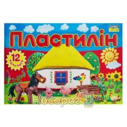 """Пластилин Мицар """"С Украиной в сердце"""", """"Моя страна"""" 12 цв., 165 г"""