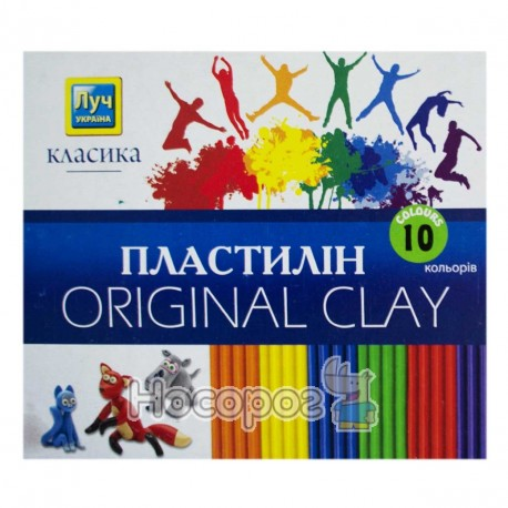 Пластилін Міцар Класика 10 кол. (Луч Україна)
