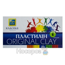 Пластилін Міцар Класика 6 кол. (Луч Україна)