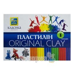 Пластилин Мицар Классика 8 цв. (Луч Украина)