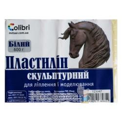 Пластилин скульптурный Мицар белый 600 г (123047)
