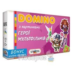 Доміно Стратег 679 Герої мультфільмів