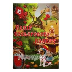 Бумага цветная двусторонняя ВинОблДрук А4, 14