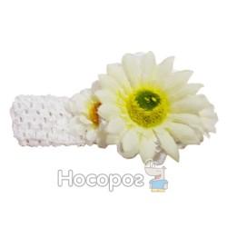Повязка для волос 00057 BS-130-1*12 цветы 1 шт