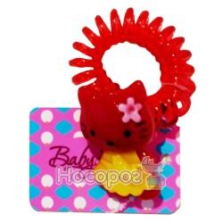 Резинка для волос 00075 BS-40-1*24 пружинка 1 шт