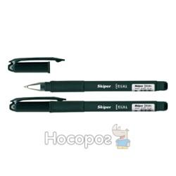 Ручка гелевая Enigma SK-2001 0,5мм, чорная