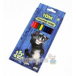 "Карандаши цветные Fantasy FW99098 ""Talking Tom and friends"" 12 цв."