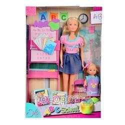 """Кукольный набор 573 0472 Штеффи и Эви """"Школа"""""""