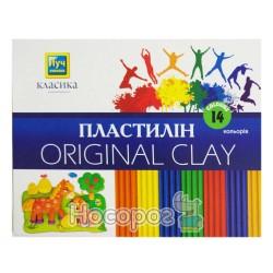 Пластилин Мицар Классика 14 цв. (Луч Украина)