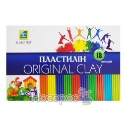 Пластилин Мицар Классика 18 цв. (Луч Украина)