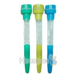 Ручка YF1111 шариковая 4 в 1 (мыл.бульки./печатка/свет)