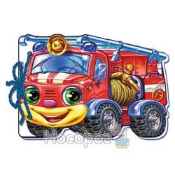 Мягкие машинки - Пожарная машина (укр.)