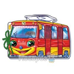 Мягкие машинки - Трамвайчик (укр.)