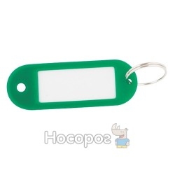 Брелки для ключей зеленые 10 шт. BUROMAX 5472-04