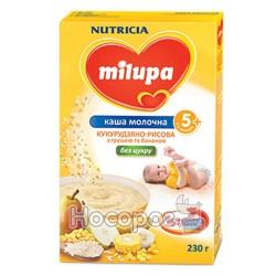 "Каша молочна кукурудзяно-рисова з грушею та бананом ""Milupa"""