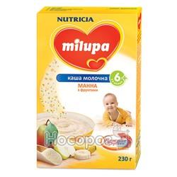 "Каша молочна манна з фруктами ""Milupa"""