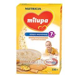 """Каша молочная мультизлаковая с детским печеньем """"Milupa"""""""