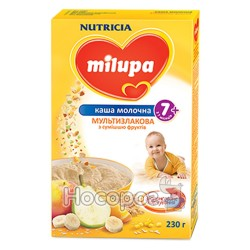 """Каша молочная мультизлаковая со смесью фруктов """"Milupa"""""""