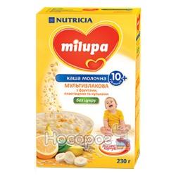 """Каша молочная мультизлаковая с фруктами, хлопьями и шариками """"Milupa"""""""