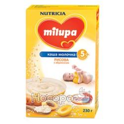 """Каша молочная рисовая с абрикосом """"Milupa"""""""