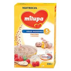 "Каша молочна рисова з малиною ""Milupa"""