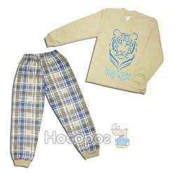 """Пижама для мальчика """"Тигр"""" 00725"""