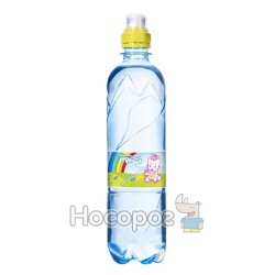 Вода детская питьевая АКВУЛЯ 0,5 л со спец.пробкой