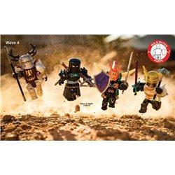 Игровая коллекционная фигурка Jazwares Roblox Mix & amp Match Set Days of Knights в наборе 4шт.