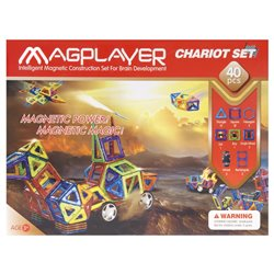 Дитячий конструктор MagPlayer 40 од. (MPB-40)