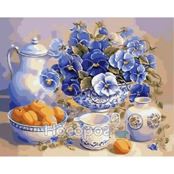 Картина по номерам Летний завтрак AS0018