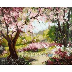 Картина по номерам Весенний сад AS0027