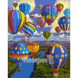 Картина по номерам Воздушный шар AS0034