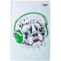 "Блокнот Profiplan ""Music note dog"""