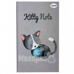 "Блокнот TM Profiplan ""Kitty note"", grey"