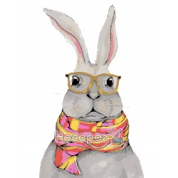 Картина по номерам Белый кролик AS0069