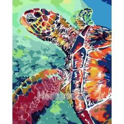 Картина по номерам Черепаха AS0076