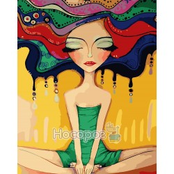 Картина по номерам Медитация AS0084