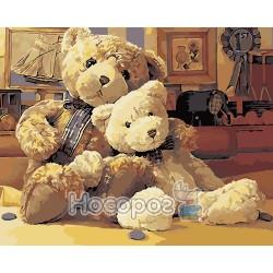 Картина по номерам Старые игрушки AS0105