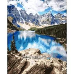 Картина по номерам Удивительные горы AS0150