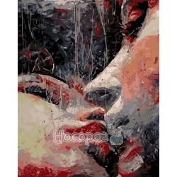Картина по номерам Страстный поцелуй AS0188