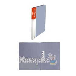 Папка з прижимом А5 Skiper SK-11 срібляста 411039