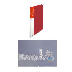 Папка з прижимом А5 Skiper SK-11 червона 411038